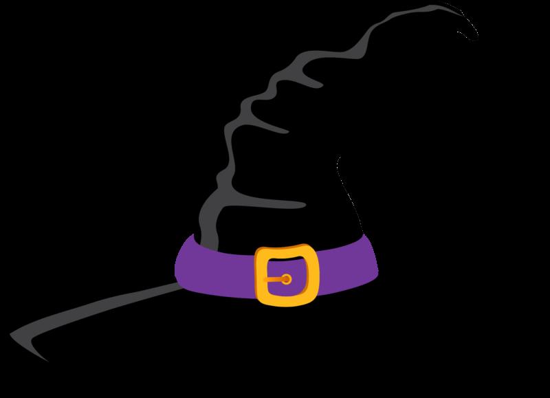 Маска шляпа ведьмы в ТикТоке