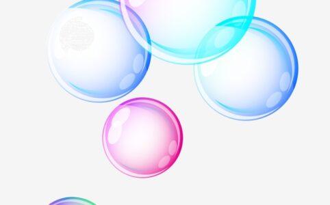 Эффект с мыльными пузырями в ТикТоке