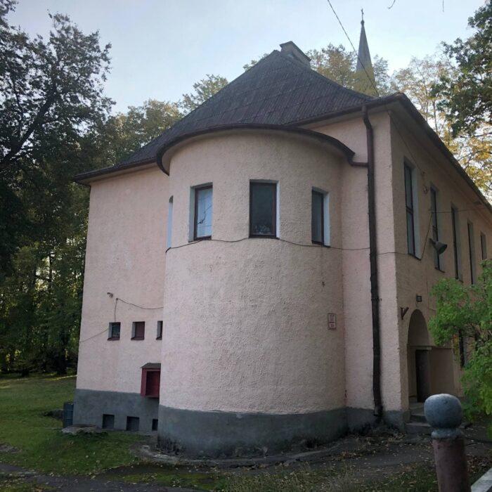 дом пастора кирха