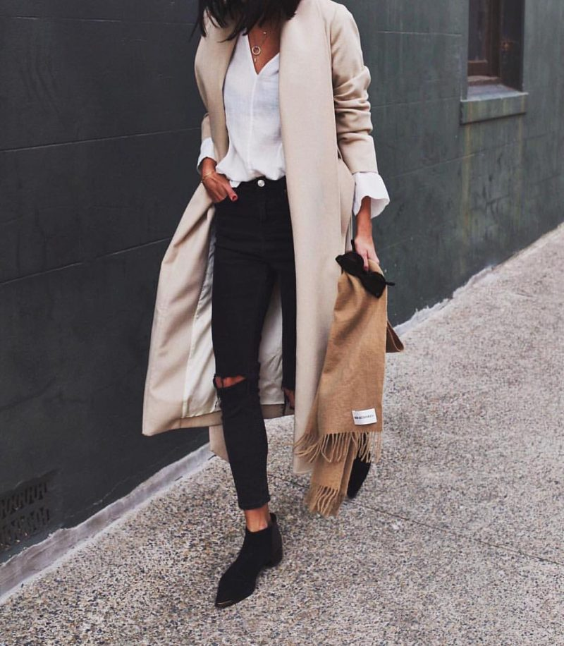 пример базового гардероба для женщин 30 лет