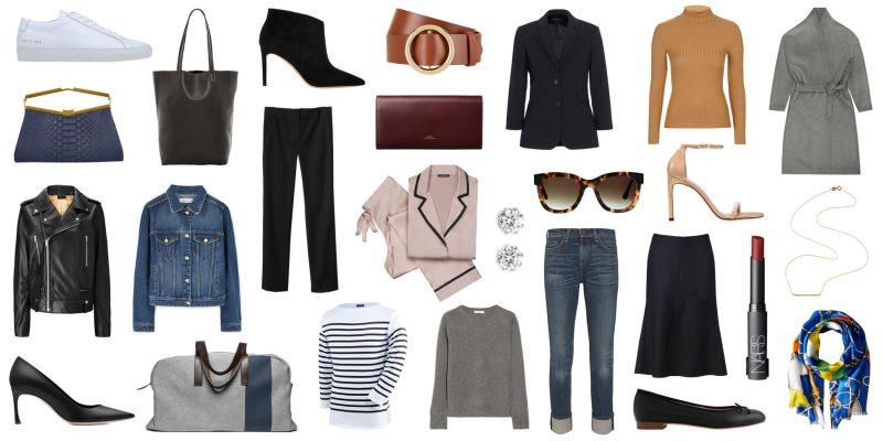пример одежды для базового гардероба