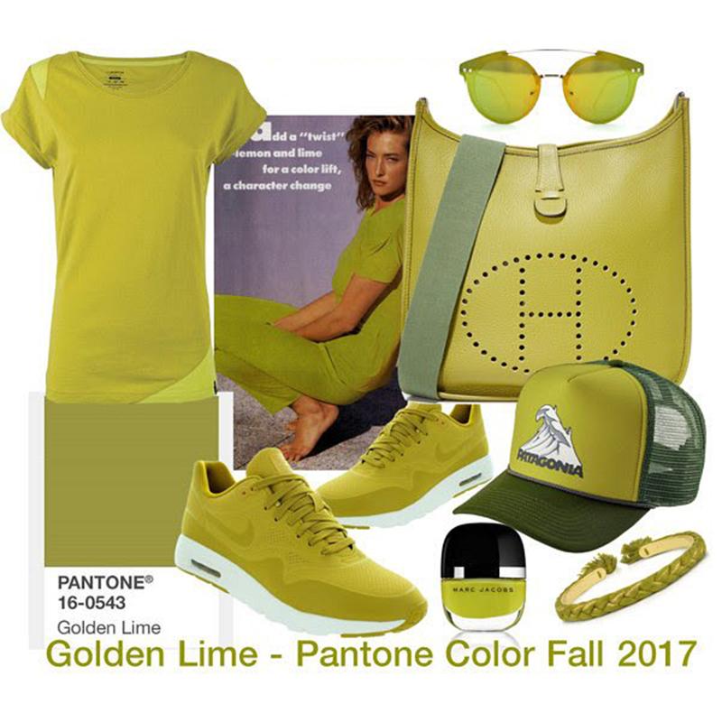 golden lime pantone 2018