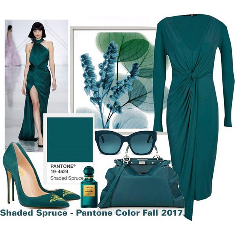 shaded spruce pantone