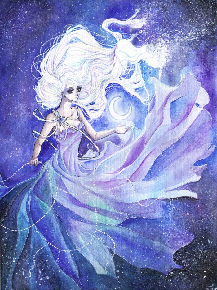 богиня луны фен шуй