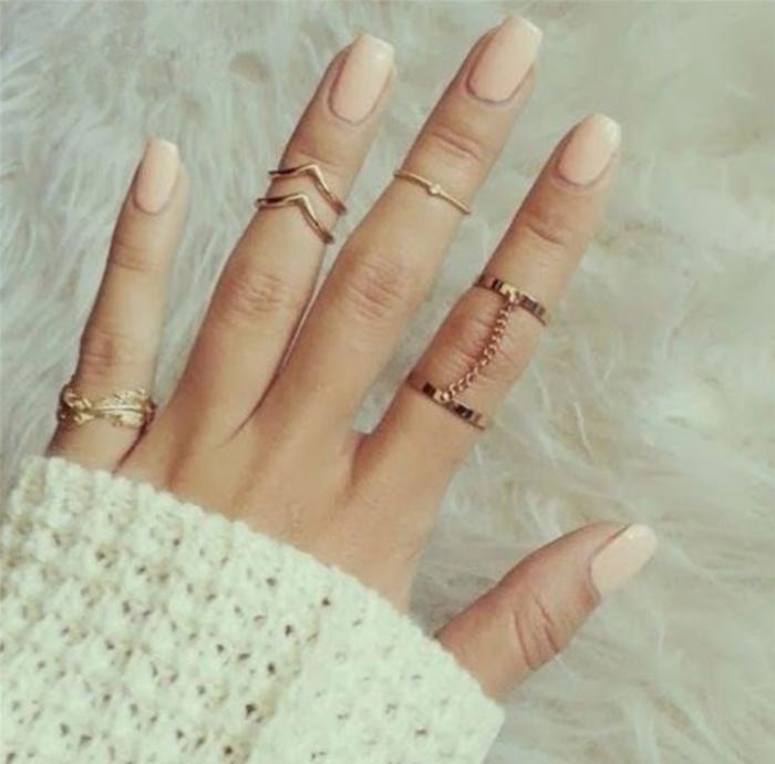кольца с цепочкой